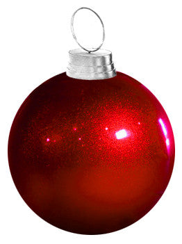 Giant Glitter Ornament | Commercial Christmas Supply - Commercial ...