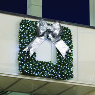 Square Framed Commercial Wreath