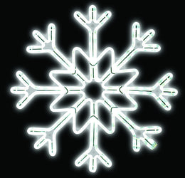 LED Ropelight Star Snowflake