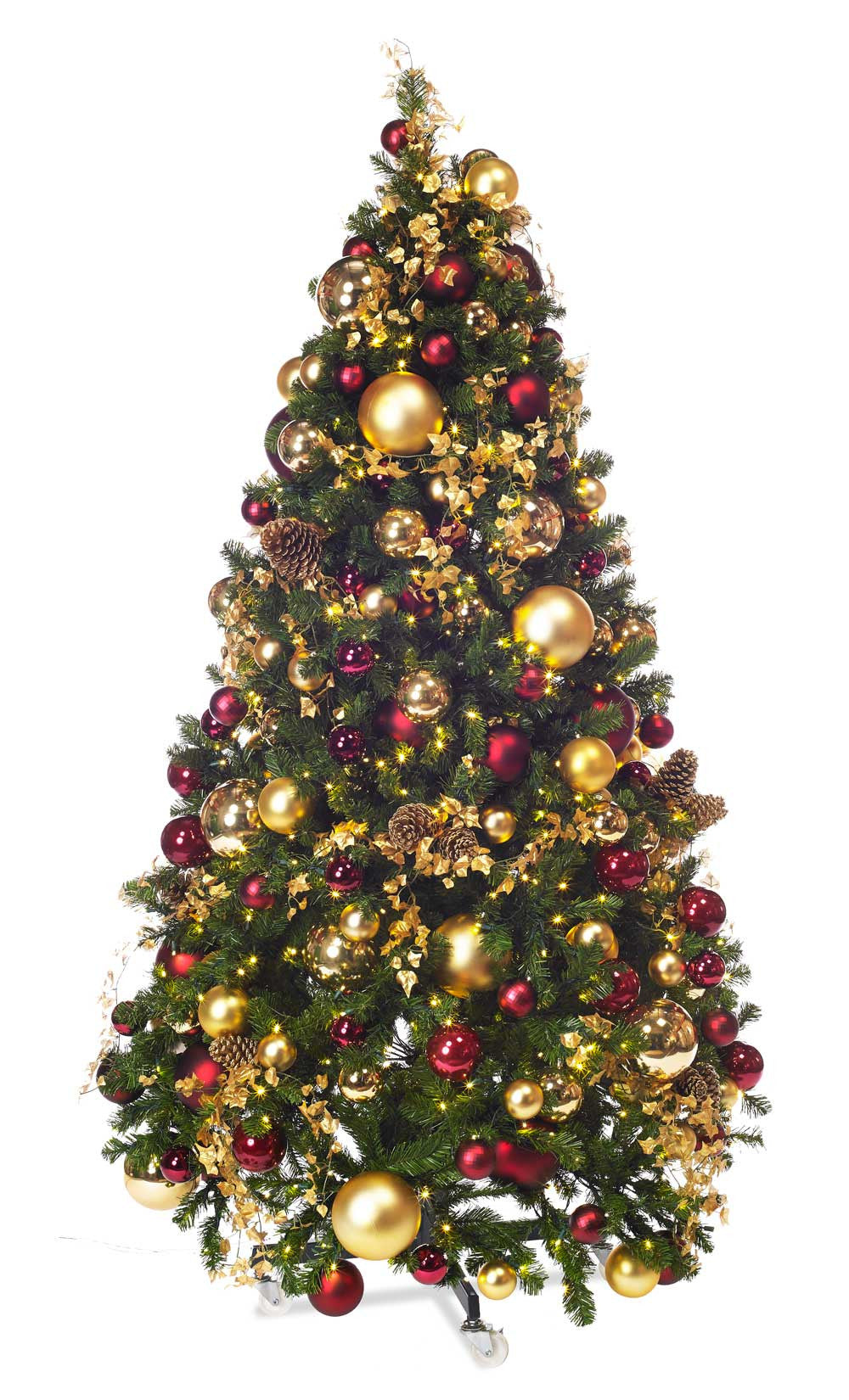 traditonal themed christmas tree package standard