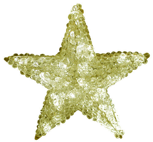 Warm White LED Large Star Tree Topper