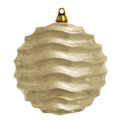 Champagne Wave Commercial Ornament  (Case of 12)