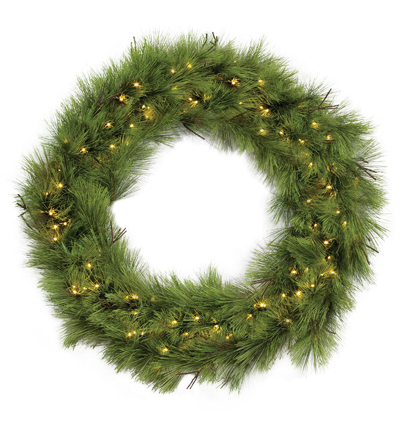 Bristle Pine Commercial Christmas Wreath