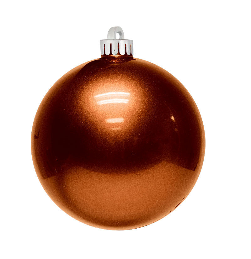 Copper Christmas Ornaments.Candy Apple Ball Ornaments Case Of 12