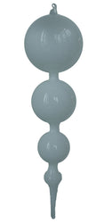 "15"" Blown Glass Finial Ornaments"