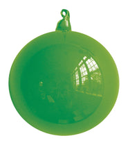 Chartreuse Blown Glass Christmas Ball Ornament