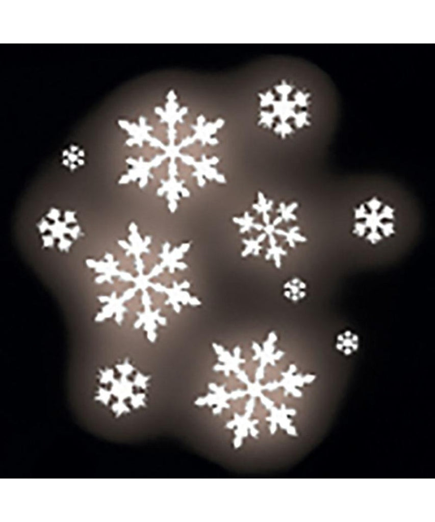 Gobo Stainless Steel Snowflake Group Design