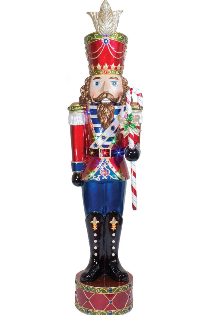 Fiberglass Lit Jeweled Nutcracker Prop