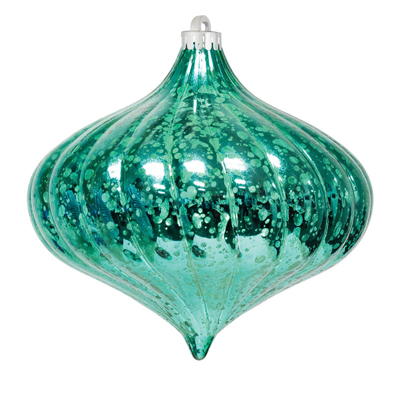 "6"" Commercial Top Swirl Mercury Ornament (Set of 4)"