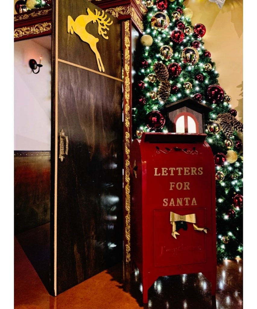 Large Metal Letter for Santa Mailbox