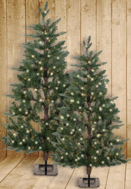 Flat Artificial Christmas Tree