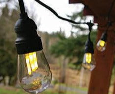 LED Vintage Edison Indoor Outdoor Lighting Strands