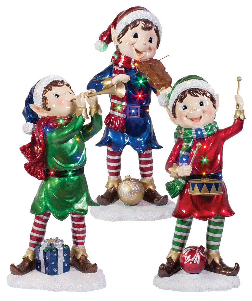 lit pixie elf props commercial christmas supply commercial christmas decorations for indoor and outdoor display - Elf Outdoor Christmas Decorations