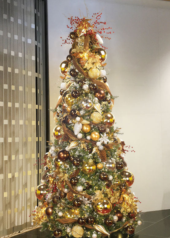 Residential Tower Christmas Tree