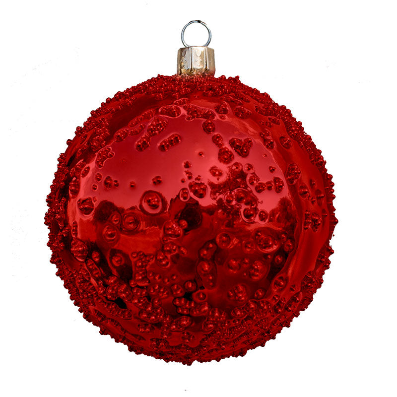 Sandy Shiny Commercial Ornaments (Set of 6) 3 Sizes