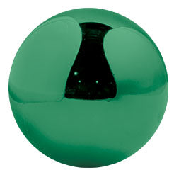 "Shiny Round Ornaments 8"" - 12"" Sizes (Sets of 4)"