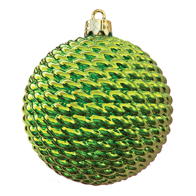 Round Woven Commercial Ornaments (Set of 6) 3 Sizes