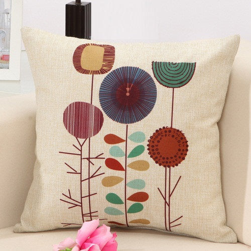 Flos Hortus Pillow Cases