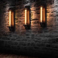 Solange - Vintage Industrial Wall Light