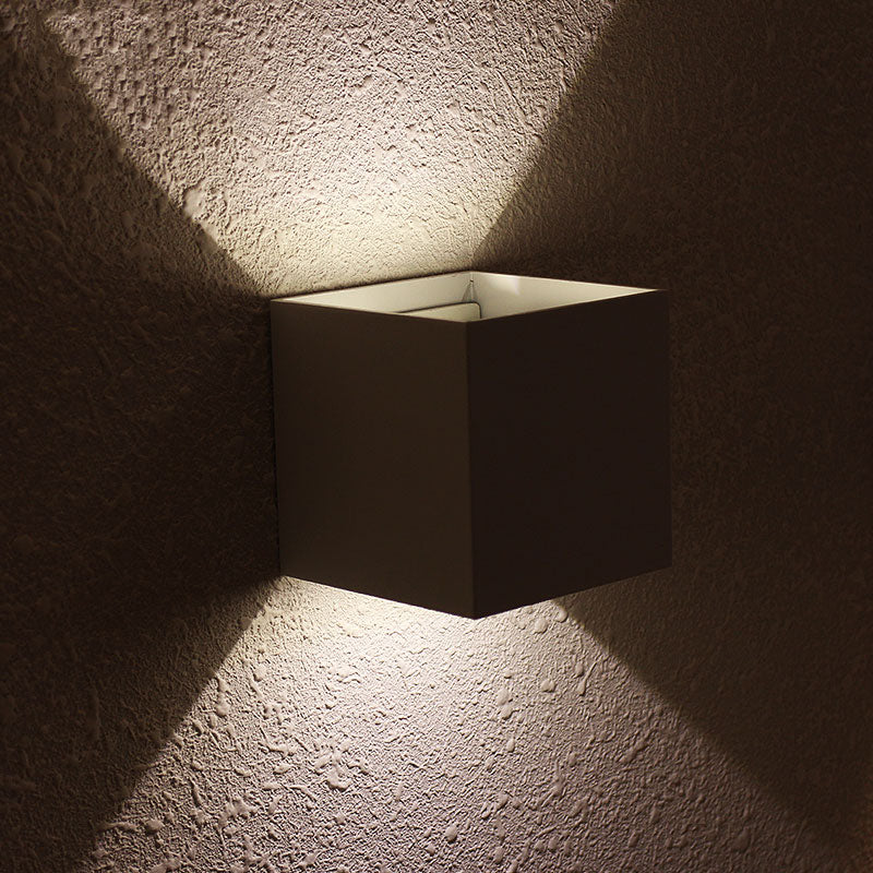 "Perelman ""Cubed"" Wall Light"