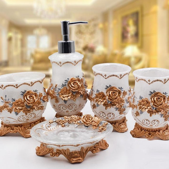 Aristocratic Bathroom Accessories Set