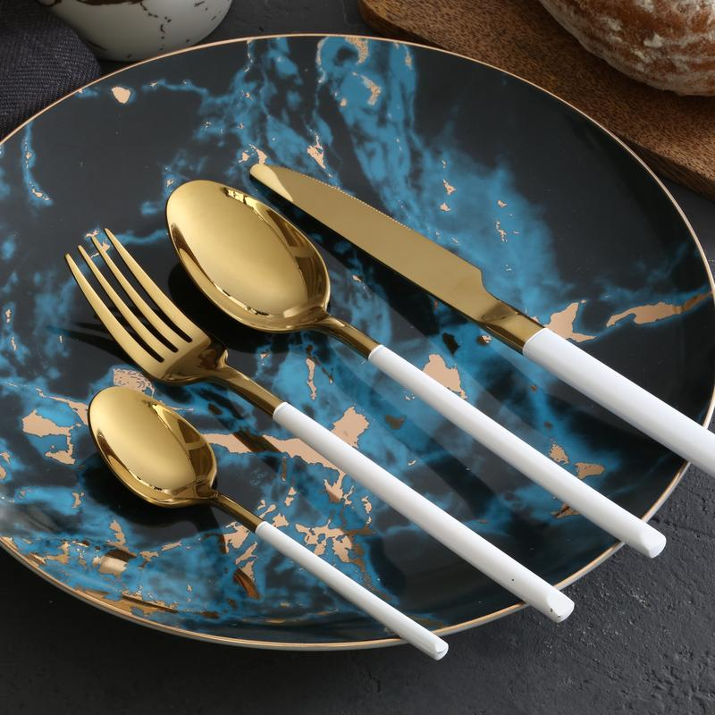 Cassiel - Classical Gilded Cutlery Set