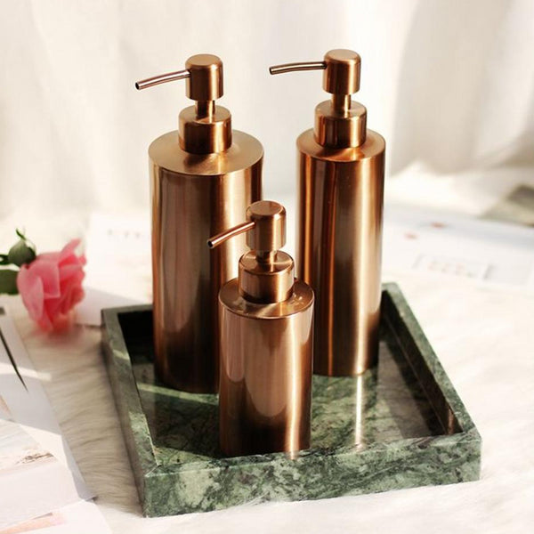 Rose Gold Pump Bottle