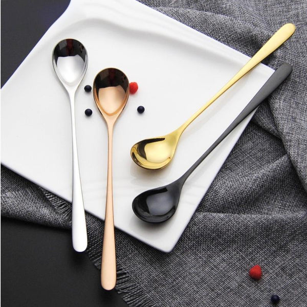 Gwendolyn - Long Dessert Spoon 6 Piece Set