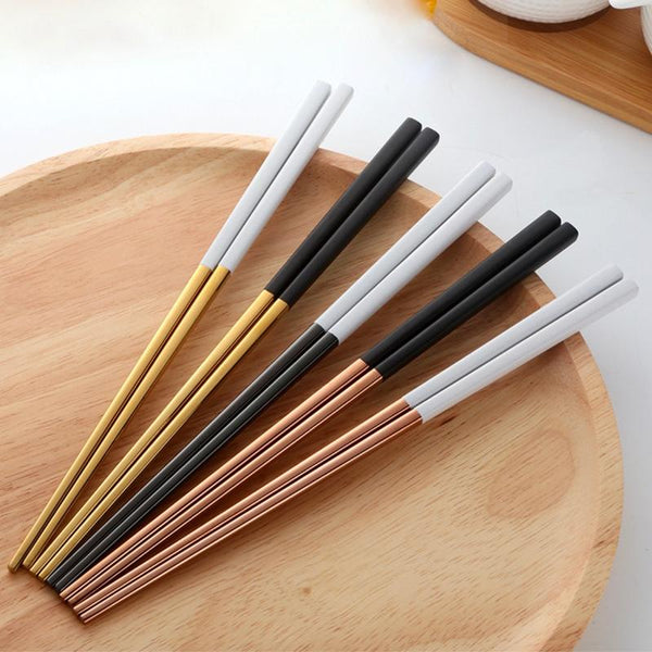 Jin - Deluxe Colored Chopsticks (5 Piece Set)