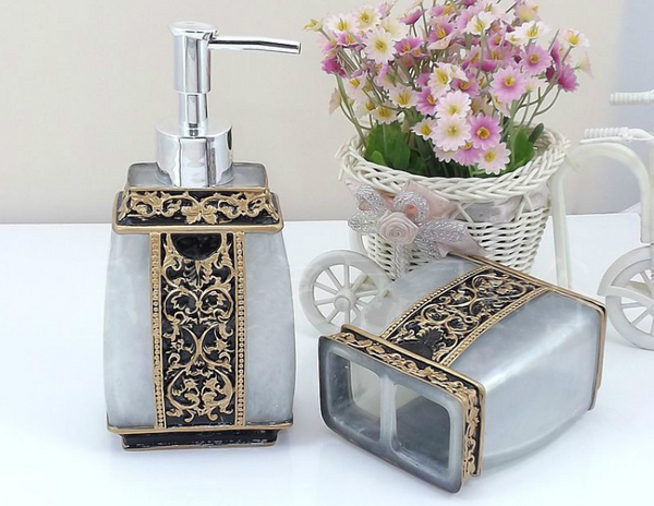 Mayan Bathroom Accessories Set