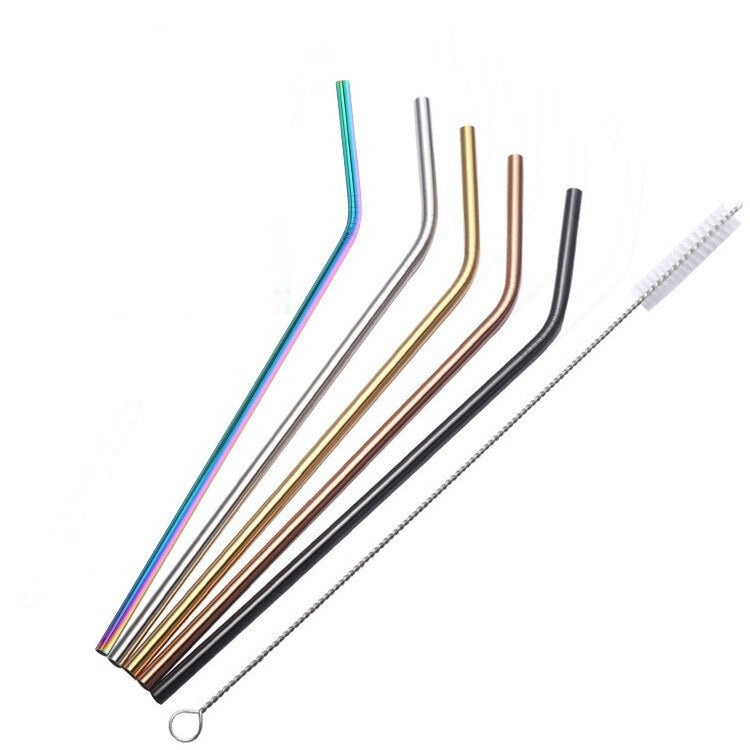 Atlas - Deluxe Cocktail Straws (5 Piece Set)