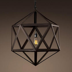 Whitman - Vintage Polyhedron Pendant Light