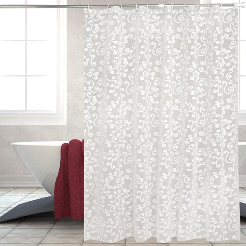 Simple Bath Curtain
