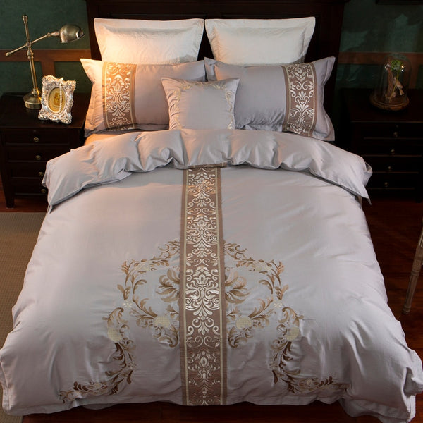 Gilded Imperial Duvet Cover Set (Egyptian Cotton)
