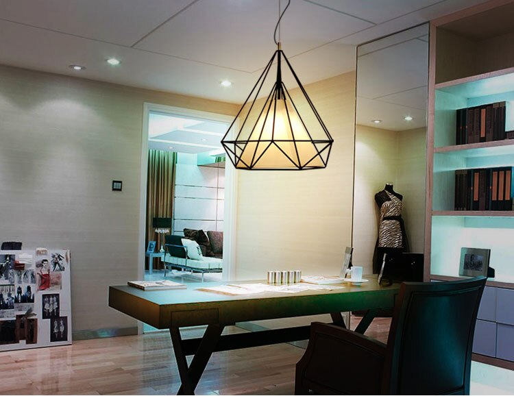 Hershel - Geometric Pendant Light