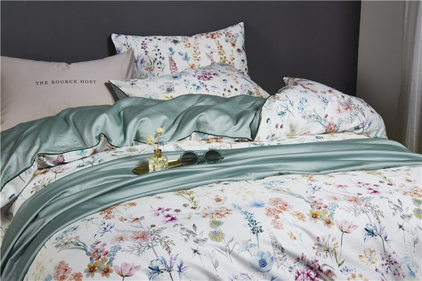 Florence Duvet Cover Set (Egyptian Cotton)