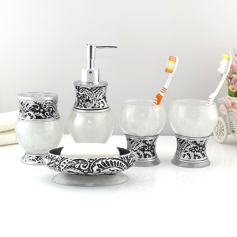 Sterling Bathroom Accessories Set
