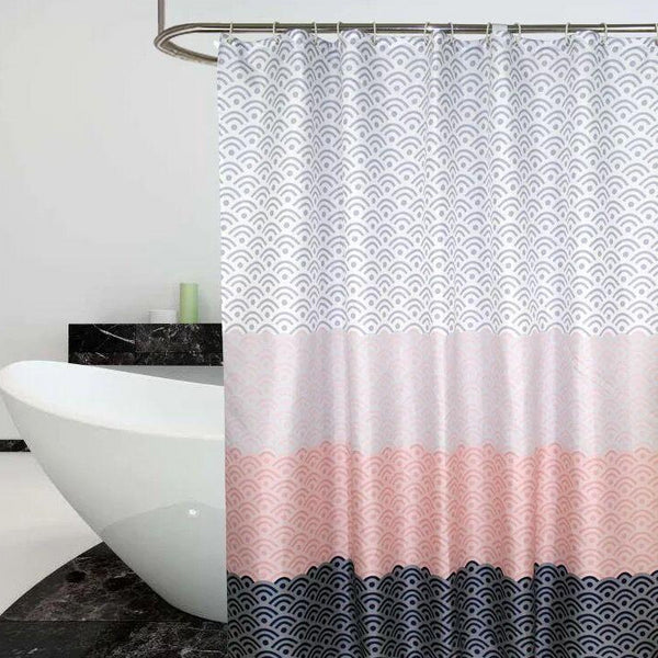 Tidal Waves Shower Curtain