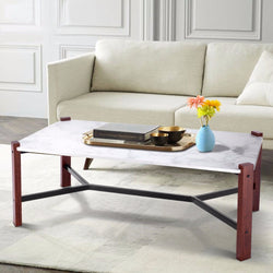 Marble Dashed Coffee Table