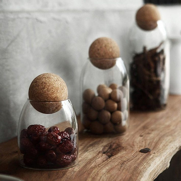 Rustic Kitchen Storage Bottle