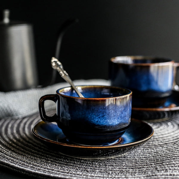 Lucius - Royal Blue Coffee Cup