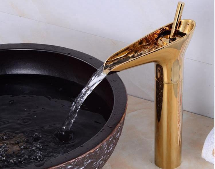 Antique Style Waterfall Faucet