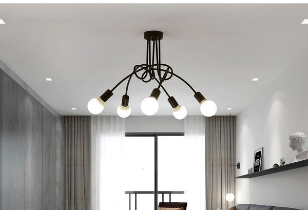 Meyer - Industrial Loft Chandelier