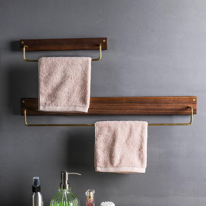 Wooden Towel Rack