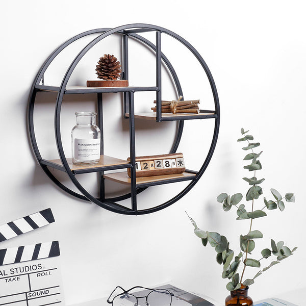 Round Retro Shelf