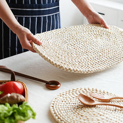 Artisan Woven Rustic Dining Table Mat