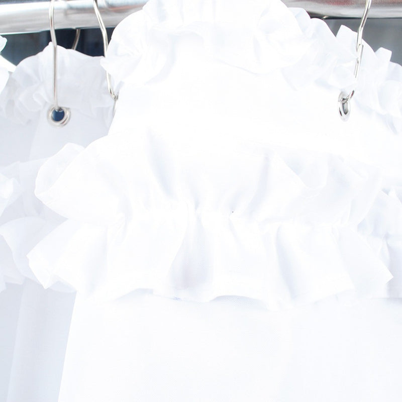 Bridal Ruffles Shower Curtain