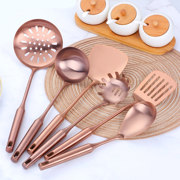 Alesso - Gilded Kitchen Tools Set