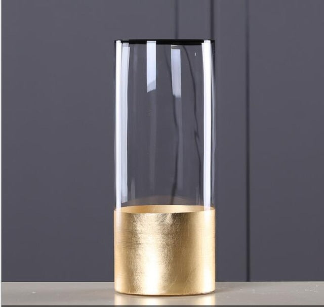 Manually Crafted Nordic Glass Vase