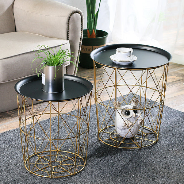 Nordic Wrought Iron Coffee Table